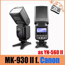Meike MK930 II, MK930 II als Yongnuo YN560II YN-560 II Flash-blitzgerät Für Canon 6D EOS 5D 5D2 5D Mark III II IV Ich 1D(China (Mainland))