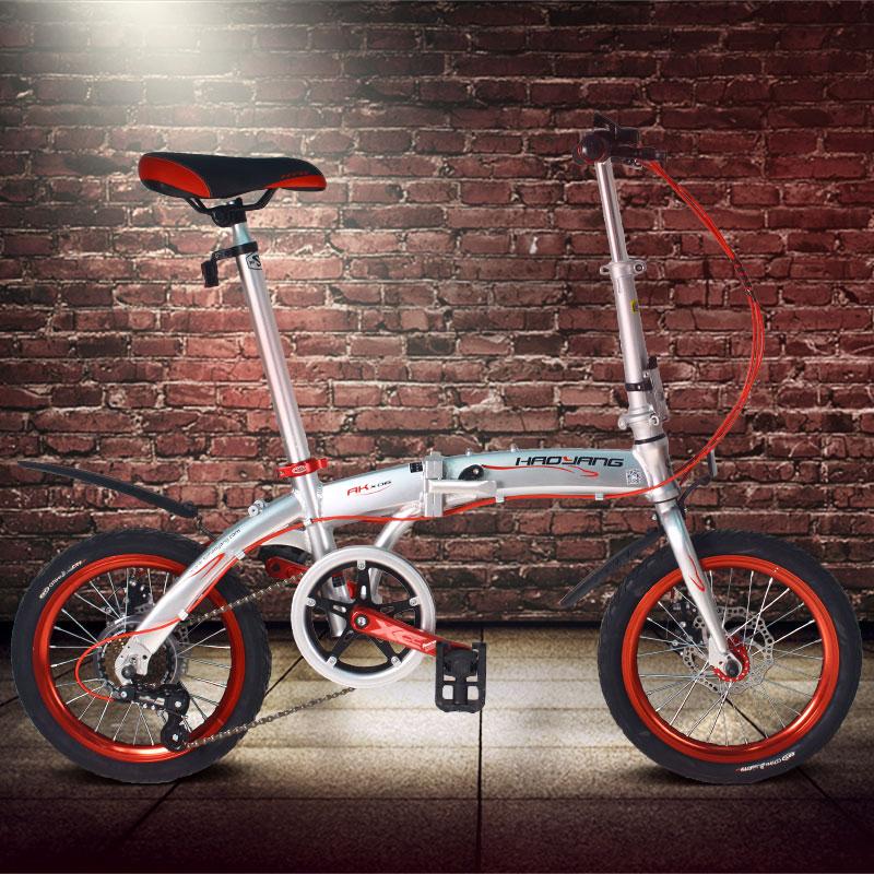 14/16 inch 6 Speed 11kg Super Light Folding Bike Road Bike Mini Bike City Bike Bicicleta Bisiklet Aluminum Alloy Bicycle,(China (Mainland))