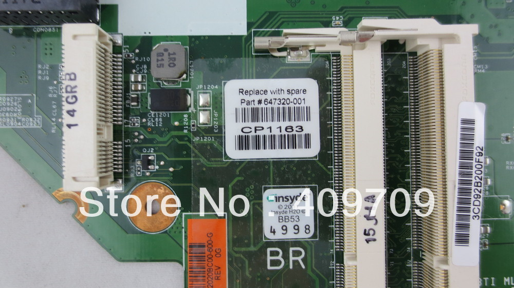 647320-001 for HP 2000 1.6GHz AMD Laptop Motherboard 100% Tested<br><br>Aliexpress