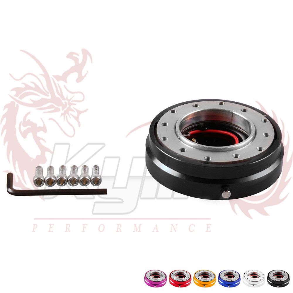 KYLIN STORE -- Free shipping NEW Universal Thin Version Racing Quick Release Adapter Steering Wheel Hub Formular Car Boss Kit(China (Mainland))