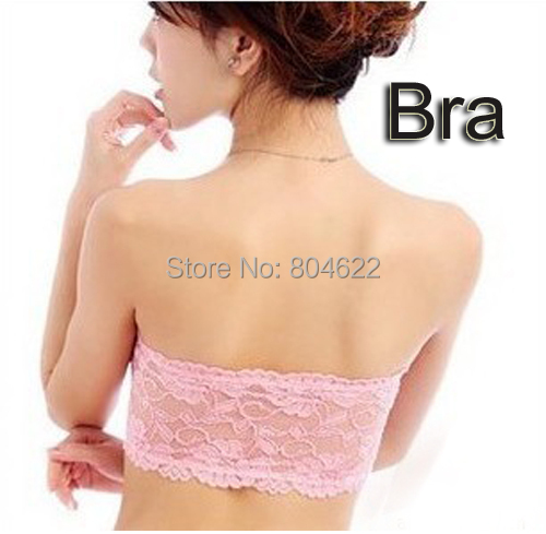 2015 New Cotton Tube Bra Top Black & White color Wholesale & Retail women' tube top invisible shoulder strap Chest wrap ABR-1(China (Mainland))