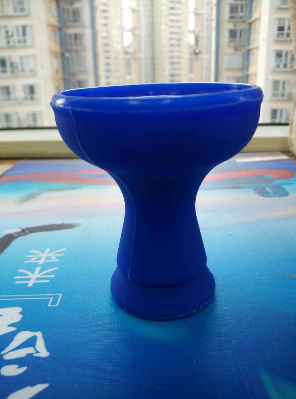 2Pcs Lot High Quality New Design Silicone Hookah Bowl Shisha Bowl for Hookah Shisha Blue