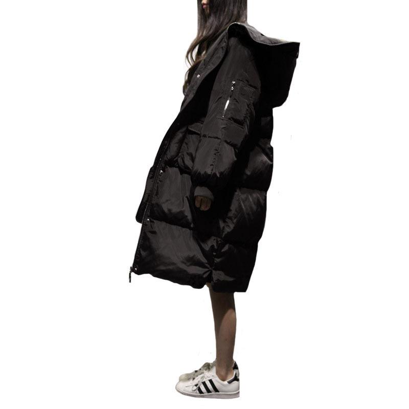 Online Get Cheap Long Black Puffer Coat -Aliexpress.com | Alibaba