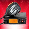 Mini car radio BJ 218 136 174 400 470MHz dual band mobile transicever walkie talkie Ham