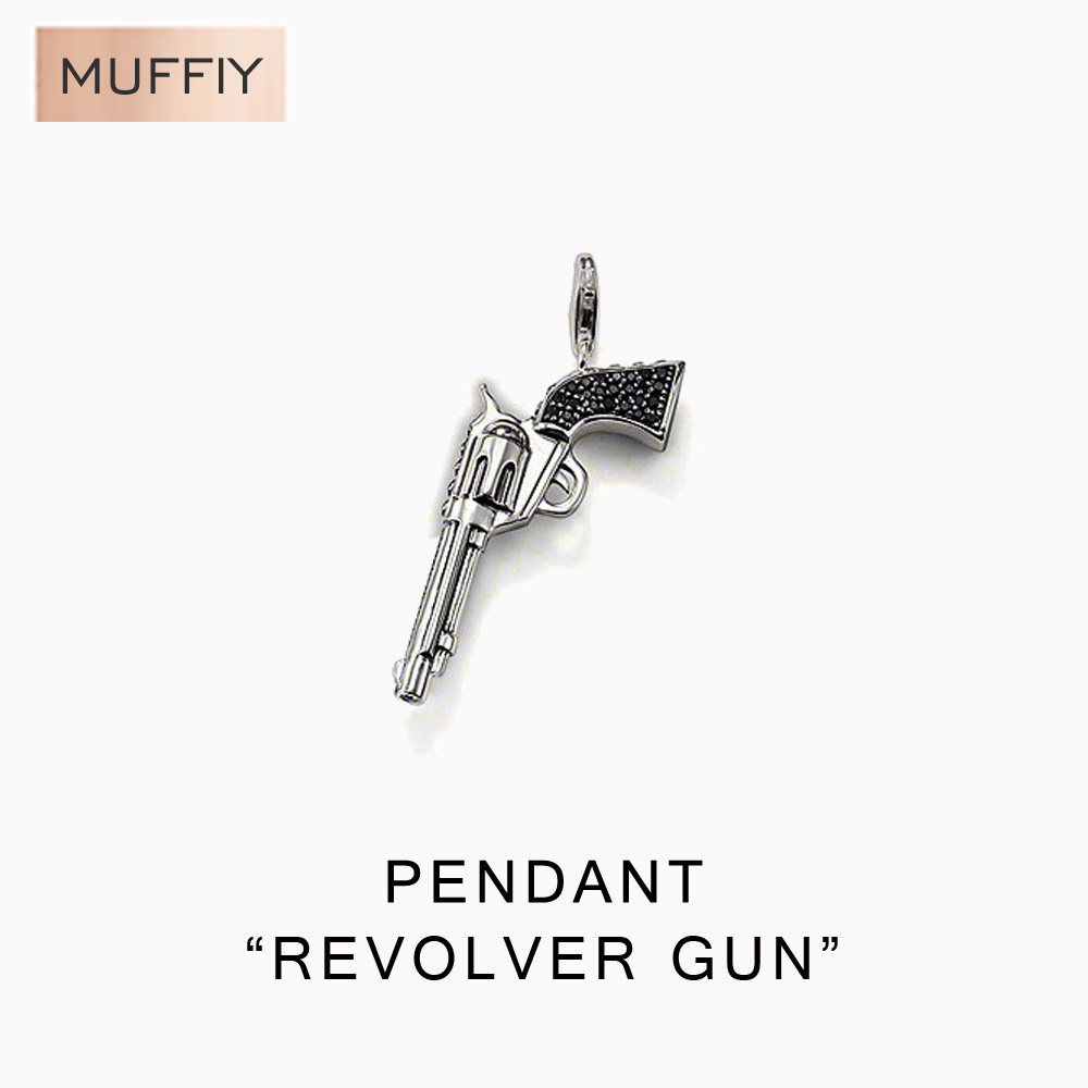 Revolver Gun Classic Pendant,Thomas Style Rebel At Heart Good Jewelry For Men And Women,Ts Gift In 925 Sterling Silver(China (Mainland))