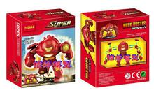 Wholesale 30pcs Decool 0181 Building Blocks Super Heroes Minifigures Iron man's Hulk Buster Bricks Figures Toys for Children