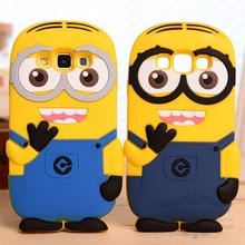 Buy Lovely New Arrival 3D Cute Cartoon Despicable Yellow Minion Soft Silicon Material Case Back Cover Samsung Galaxy A5 A5000 for $3.49 in AliExpress store