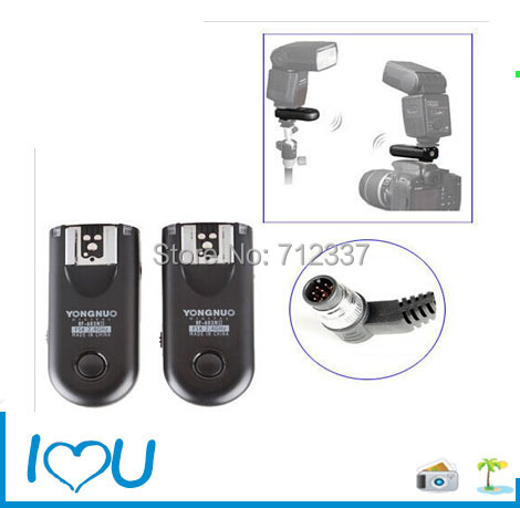2016 Yongnuo RF603II N3 Wireless Remote Flash Trigger for D5300 D7100 D610 D3300(China (Mainland))