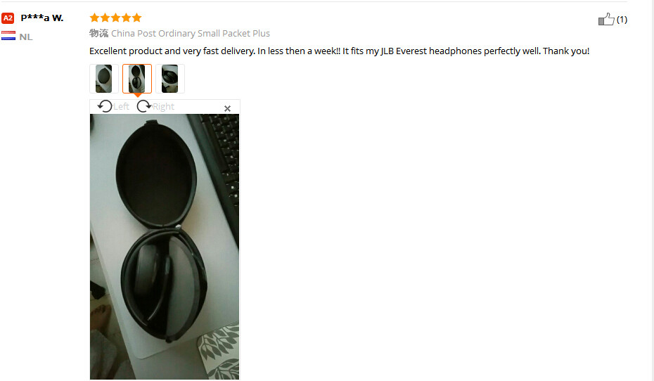 image for Top Quality EVA Anti-shock Protection Cover For Headphone Portable Ear