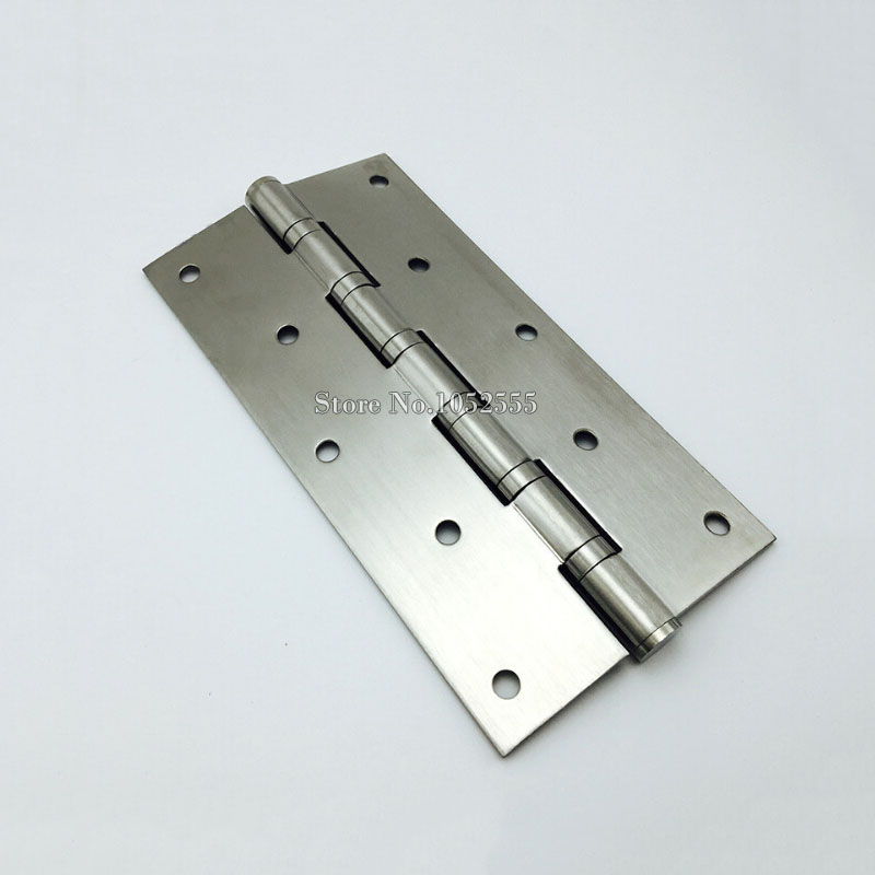 8 Inch Thickness Stainless Steel Wooden Door Hinge Heavy Duty Hinges Mute Door Project Auxiliar Hardware Home Accessories E151(China (Mainland))