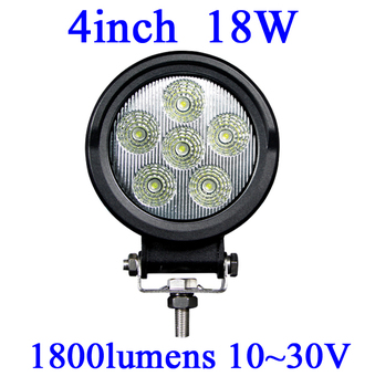 FOR JEEP 18W LED Work Light 1800 Lumen Offroad Driving Lamp 4inch   ATV,10-30V DC IP67 FLOOR BEAM cree led offroad led light