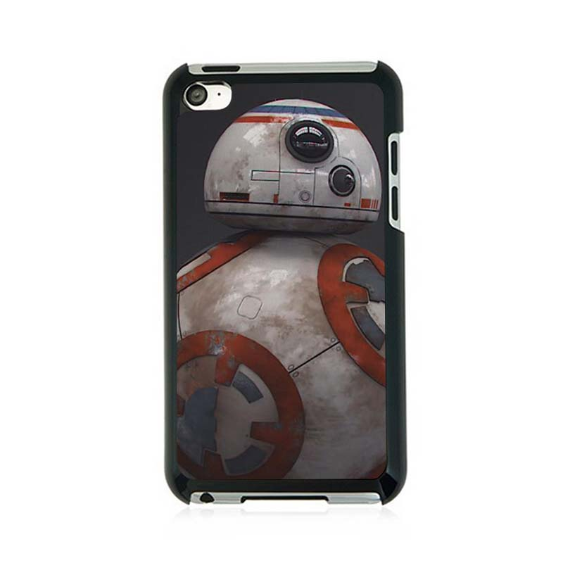 Star Wars The Force Awakens BB8 Custom Design Protective Shell Skin Bag Case For ipod Touch 4(China (Mainland))