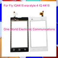One World 1pcs lot For Fly IQ4418 era style 4 IQ 4418 Touch Screen Digitizer Front