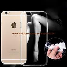 """Ultra-thin 0.3mm Transparent TPU Soft Case for iPhone6 4.7"""" Free Shipping"""
