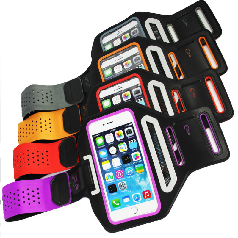 2016 New Arrival Super Slim Sport Armband for iPhone 6 4.7 inch Waterproof Sport Armband for Samsung S4 for iPhone 6 Armband