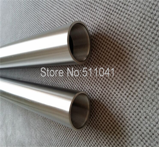Gr2 titanium tube  ,Resistance to high pressure high temperature titanium tube, titanium thread tube35*3.5*500,black surface<br><br>Aliexpress