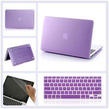 3in1 Clear Hard Shell EU UK Keyboard cover case for MacBook Air 13 inch 13″ Model A1369 A1466 + Keyboard Cover + film