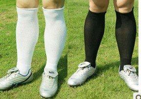 The black and white towel and knee socks football sox baseball sox stockings male socks