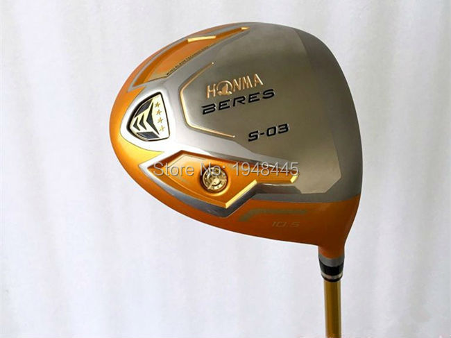 "4 Star Honma S-03 Driver Honma S-03 Golf Driver Golf Clubs 9.5""/10.5"" Degree Regular/Stiff Flex Graphite Shaft With Head Cover(China (Mainland))"