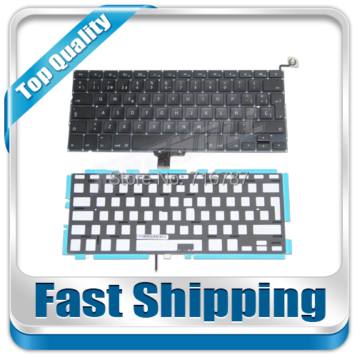 NEW FOR MACBOOK PRO 13 A1278 TECLADO SPANISH SP Keyboard &amp; backlight<br><br>Aliexpress