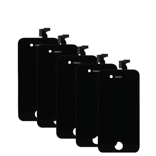 Best Price 5pcs/lot For Apple iPhone 4S LCD Display with Digitizer Touch Screen Replacement Assembly Phone Parts(China (Mainland))