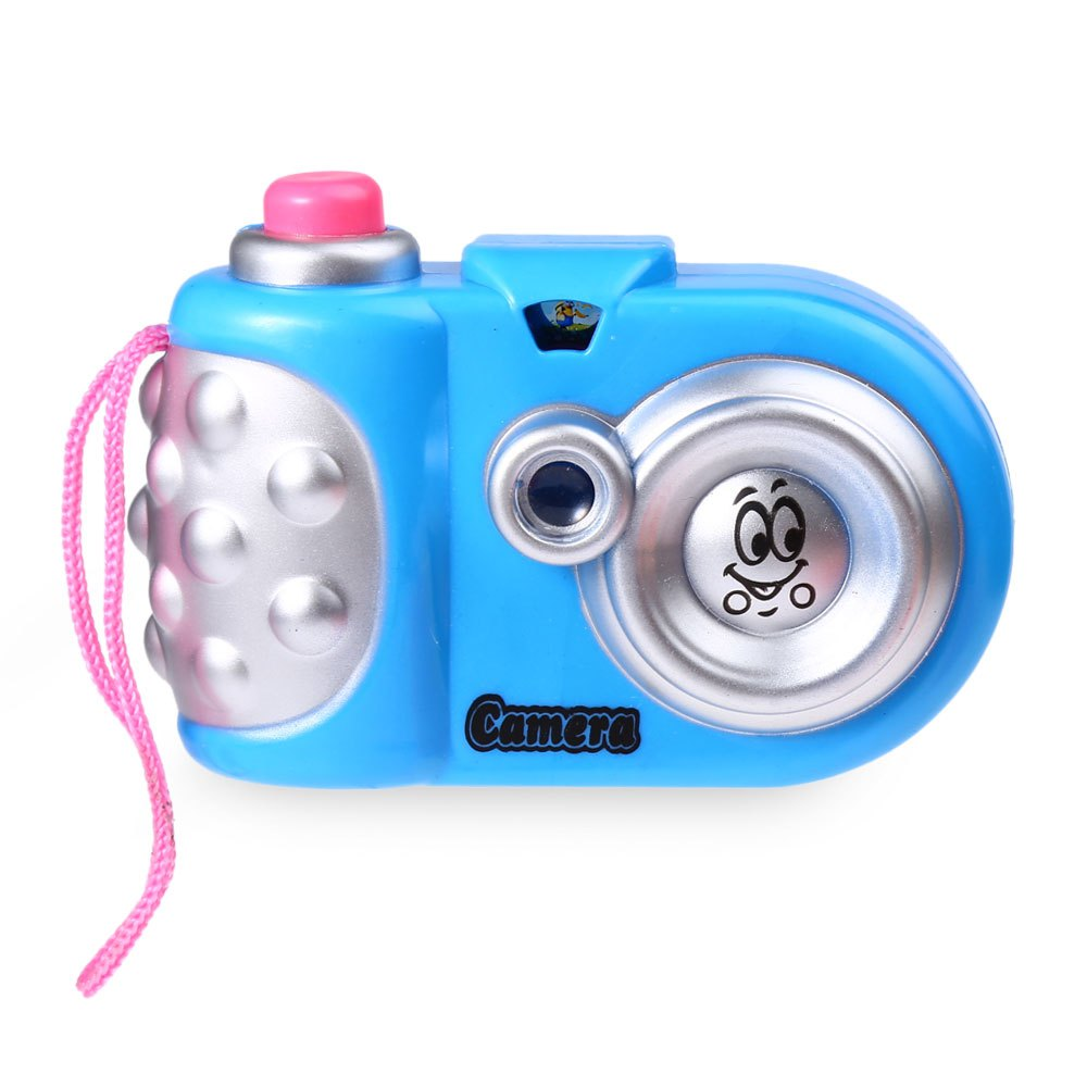 New Cute and Colorful Children Cartoon Mini Shining Camera Educational Toys Different Colors for Boys and Girls(China (Mainland))
