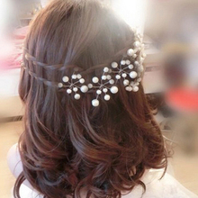 Buy 5Pcs Popular Wedding Bridal Pearl Crystal Rhinestone Hair Pins Bridesmaid Clips Tiara Hair Jewelry Hairwear Hair Accessories for $1.39 in AliExpress store