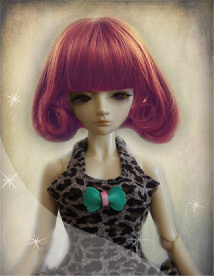 1/6 1/4 1/6 BJD doll wig  synthetic mohair wig  BJD doll   Vinyl doll play doll<br><br>Aliexpress
