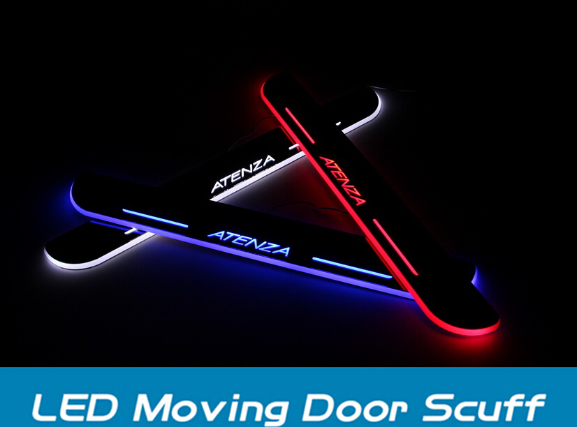 Mazda 6 atenza LED MOVING DOOR SCUFF led door sill plate - sixty store