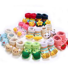 Buy Lovely Cute Cartoon Animal Doll Infant Socks Newborn Baby Socks 24 Style Model Anti-slip Toddler Boys Girls Socks 14-203 for $1.07 in AliExpress store