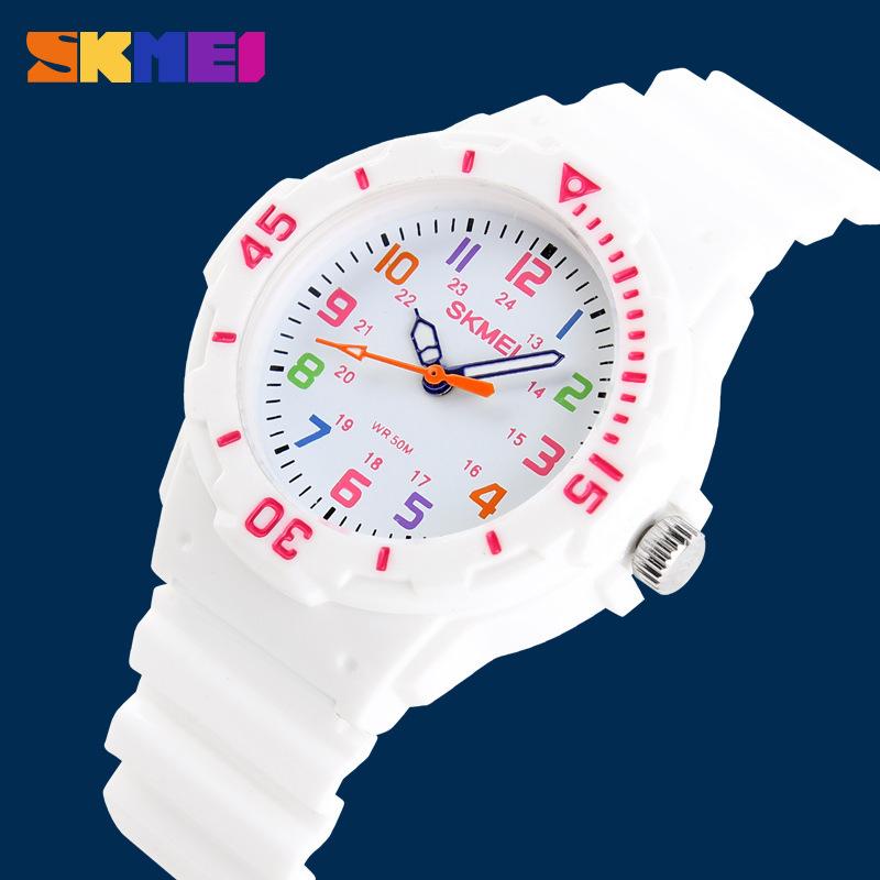 Skmei Fashion Children Sport Watch Kids Girl Boys Waterproof Quartz Watch Horloge With Original Box Montre Enfant Best Gift(China (Mainland))