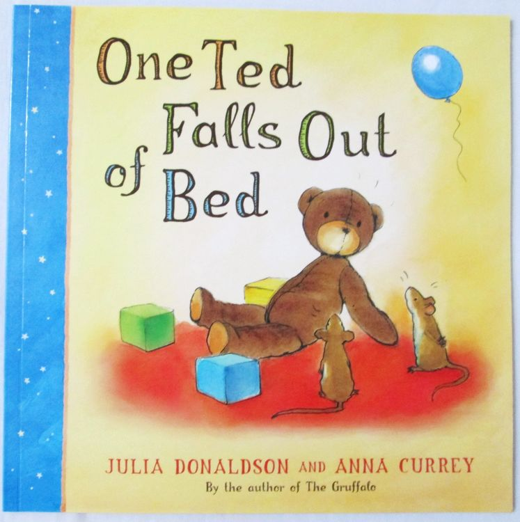English picture book : One Ted Falls Out of Bed , baby and kids early education book (age 3-6)<br><br>Aliexpress