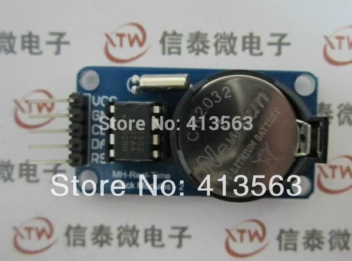 Гаджет  Free shipping DS1302 Real Time Clock Module with Battery CR2032 for arduino (1 pieces/lot) 30291 None Электронные компоненты и материалы