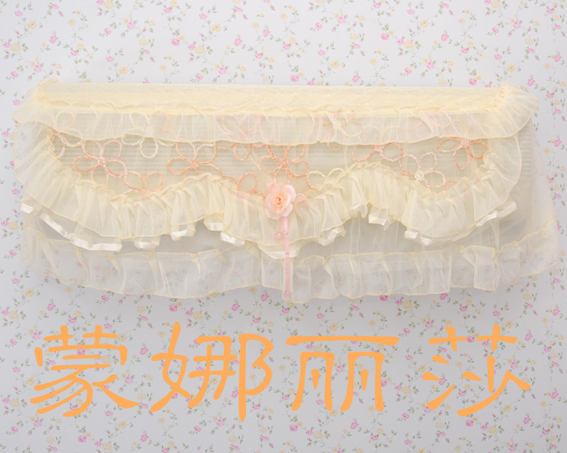 Quality hanging air conditioning cover air conditioning units lace cloth sheathers all-inclusive(China (Mainland))