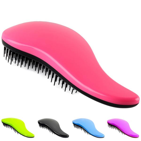 Гаджет  Professional Detangle Brush Paddle Beauty Healthy Styling Care Hair Comb (Please choose the color you need) None Красота и здоровье