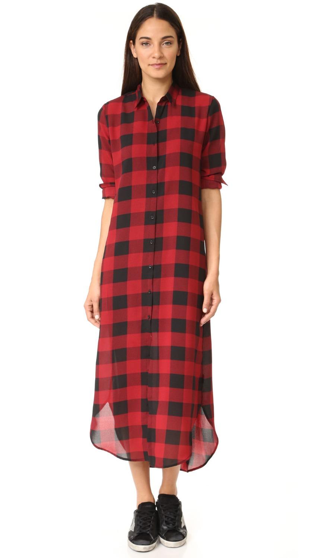 Shirt design 2017 female - Long Dress Latest Fashion Design Women Dress 2017 Spring Summer Long Plaid Dress For Women Long