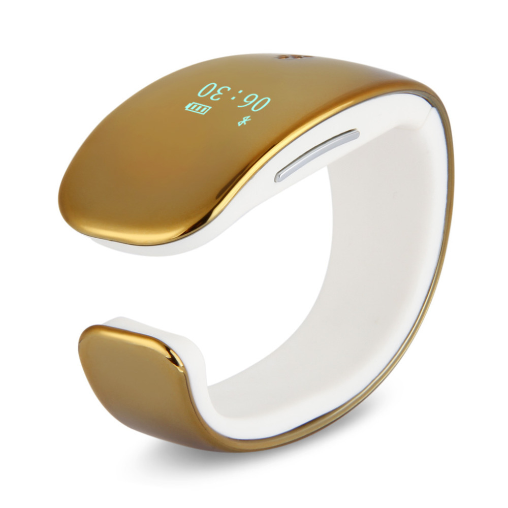 Gold Color Bluetooth Fitness Activity Tracker Smartband Sports Bracelet For Android IOS(China (Mainland))