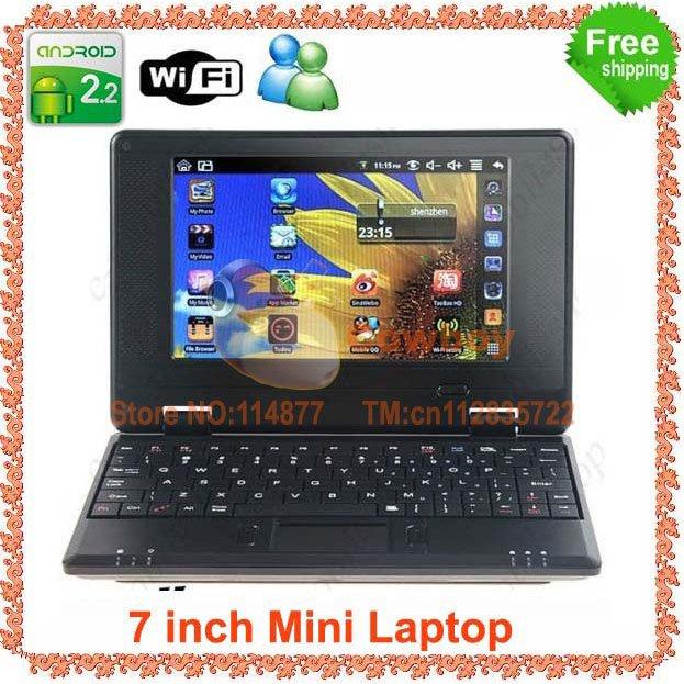 7 inch EPC Andriod 4.1 WIFI 512MB 4G Flash UMPC Mini Laptop(China (Mainland))