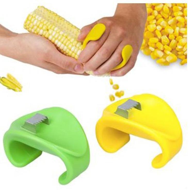 Гаджет  Creative kitchen stripping corn planing device scraping knife stripping corn separator None Бытовая техника