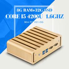 Hot I5 4200U,8G RAM+32G SSD+WIFI Mini Computer HDMI Tablet Pc Windows 7/8/8.1/Linux System With 4*USB 2.0, 1*USB 3.0