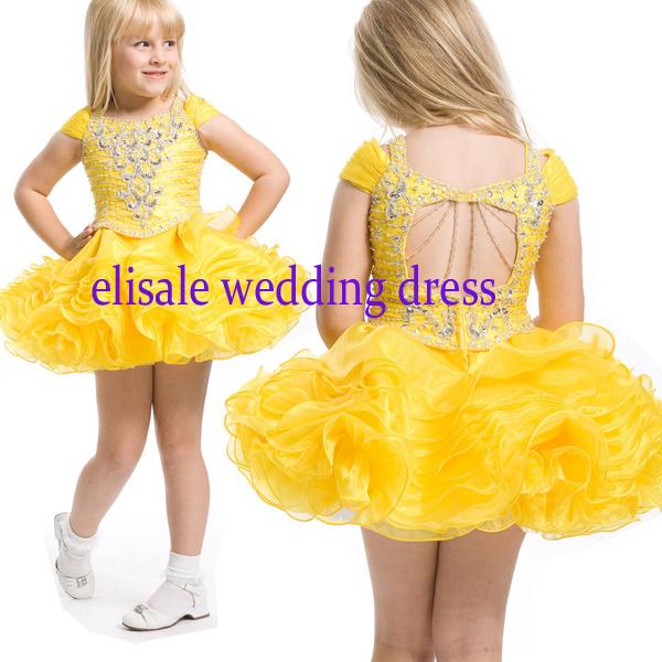 Girls clothing luxury child dress princess dress flower girl skirt wedding dress one-piece dress<br><br>Aliexpress