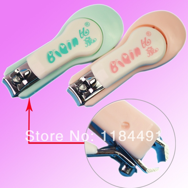 NEW Design infant nail nursing special baby finger scissors baby nail clipper professional + free shipping HVget(China (Mainland))