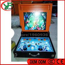 17 inch portable mini Fishing machine mario game Casino game machine slot game machine Mario game(China (Mainland))