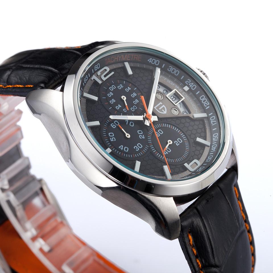 Фотография men sport wristwatch dive 30m casual watch relogio masculino Watches men luxury brand Multifunction Pagani Design quartz