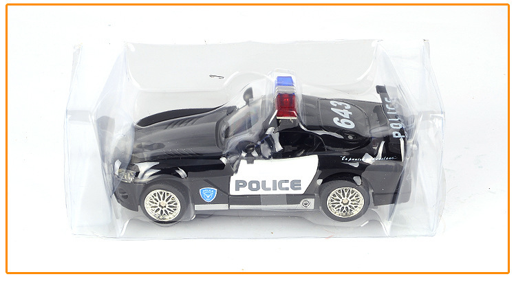 Police Car Toys For Boys : Transformation cars robots transformable autobot