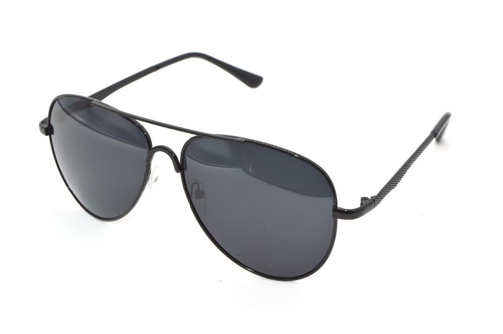 Classic polarized Driving sunglasses double bridge black frame Tac Enhanced Polarized For Polarised Golf Ocean Shark Uv 400(China (Mainland))
