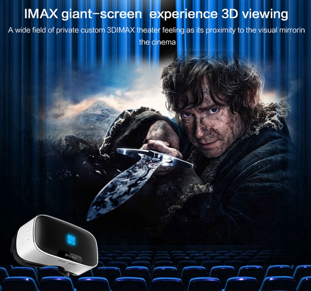 Immersive Glasses Android 3D VR BOX Virtual Reality Google Cardboard All-In-One Game Movie Vrbox Case Goggles Binocular Helmet
