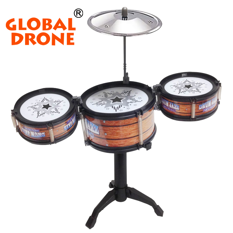 NEWEST Children jazz drum drum simulation hand drum musical instrument toys wholesale stalls selling children(China (Mainland))