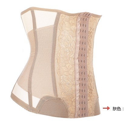 High Quality fashion Waist Cinchers 3 lines Hooks Girdle Corsets Bustiers Firm Plus Body shapers Belt S-XXXL