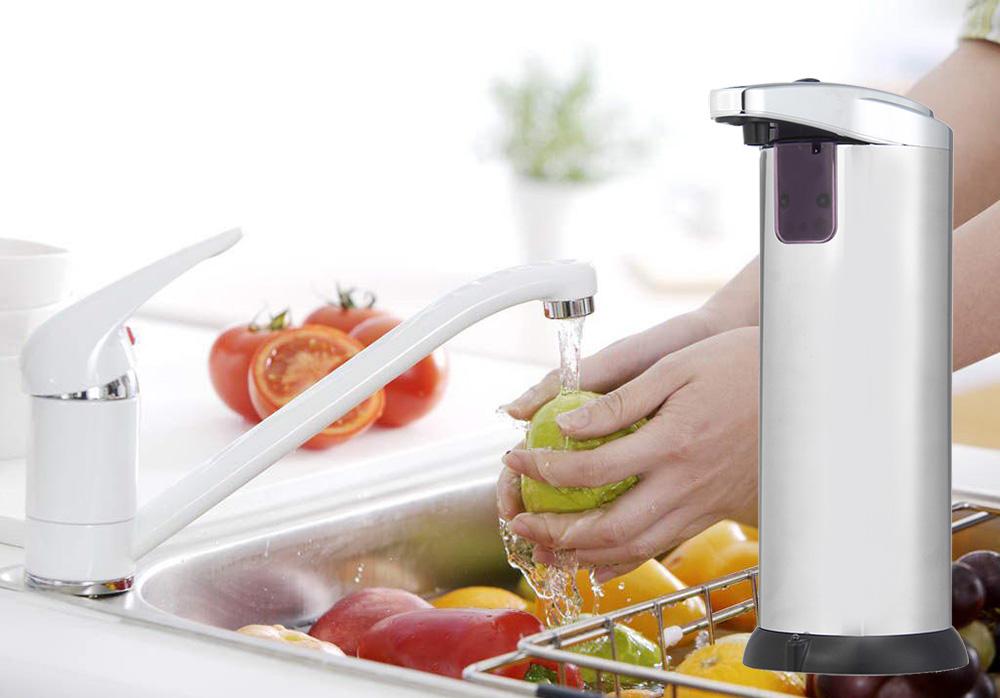 дозатор для жидкого мыла сенсорный фото